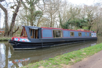 Lambon 57' Semi Trad Narrowboat