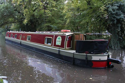 Narrowboat 69' Pro-Build Cruiser Stern Olive - offered for sale by Tingdene Boat Sales