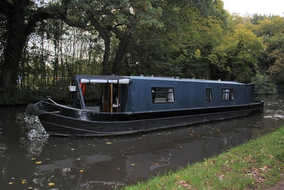 Narrowboat 40' Eggbridge Semi Trad Stern