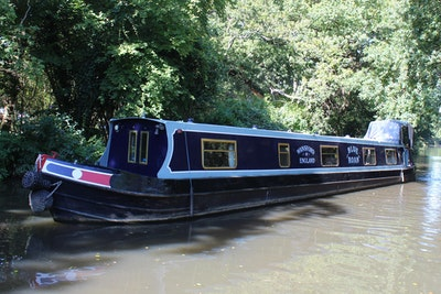Narrowboat 57' Dave Clarke Cruiser Stern
