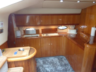 Sunseeker Camargue 50 Blue Juice - offered for sale by Tingdene Boat Sales