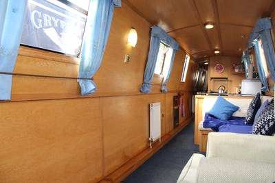 Narrowboat 57' Pro-Build Trad Conway - offered for sale by Tingdene Boat Sales