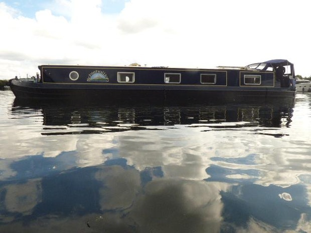 Wide Beam Narrowboat Collingwood Emperor 60 x 12