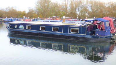 Wide Beam Narrowboat Collingwood Emperor 60 x 12 Schiehallion - offered for sale by Tingdene Boat Sales