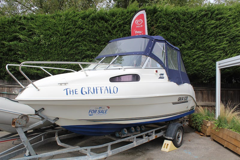 Galia 530 The Griffalo - offered for sale by Tingdene Boat Sales
