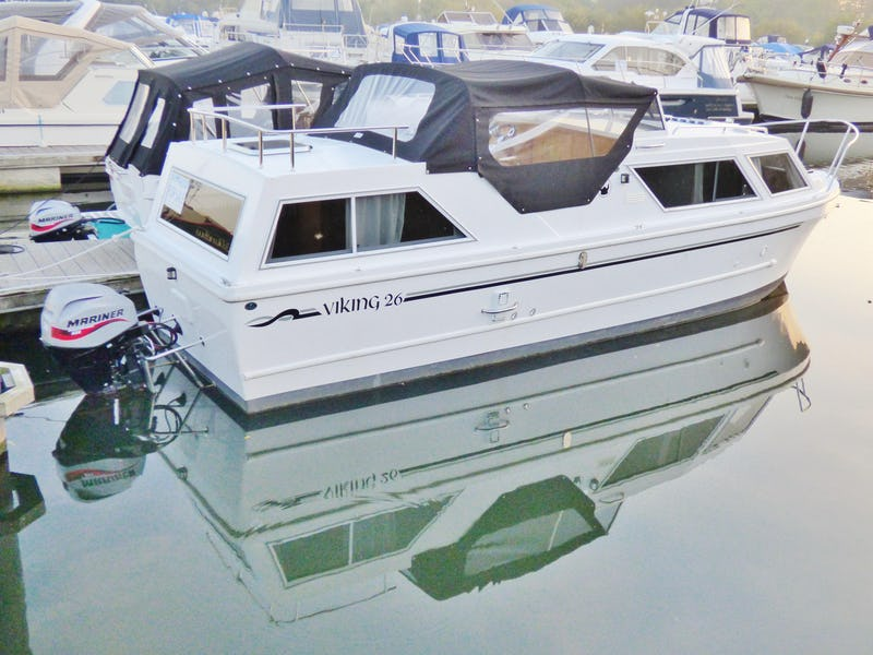 Viking 26 Centre Cockpit New to order - offered for sale by Tingdene Boat Sales