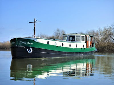 Piper 60M MOTOR CLASS DUTCH BARGE Emily Anne - offered for sale by Tingdene Boat Sales