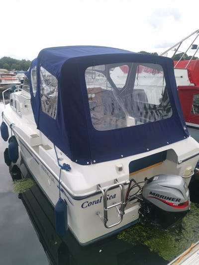Viking24 HighlineCORAL SEA - offered for sale by Tingdene Boat Sales