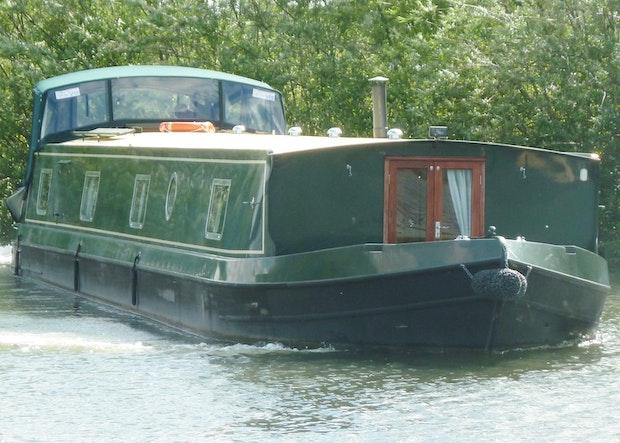Wide Beam Narrowboat 65 x 12 Hanbury Monarch