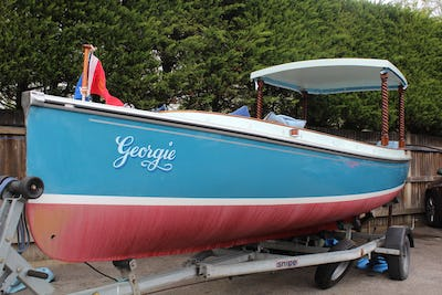 Creative MarineFrolic 21 Electric Launch - offered for sale by Tingdene Boat Sales