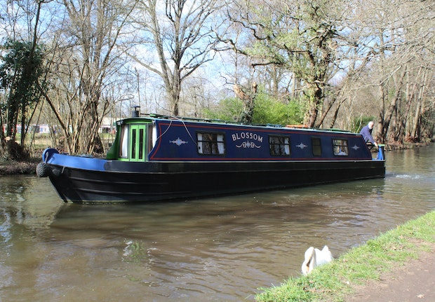 Narrowboat 43' Pat Buckle Cruiser Stern