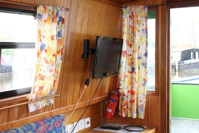 Narrowboat 43' Pat Buckle Cruiser Stern Blossom - offered for sale by Tingdene Boat Sales