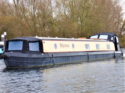 Wide Beam Narrowboat Collingwood 60 x 10 Baby Eurocruiser Myson - offered for sale by Tingdene Boat Sales