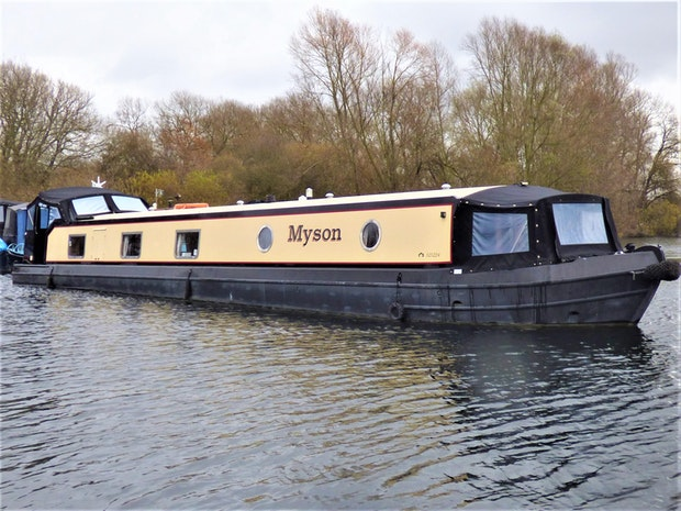 Wide Beam Narrowboat Collingwood 60 x 10 Baby Eurocruiser