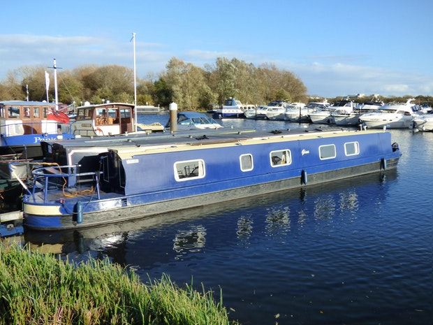 Narrowboat 58'Reeves Black Prince Duchess
