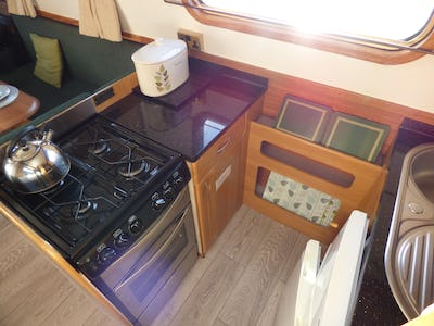 Narrowboat58'Reeves Black Prince DuchessGina 2 - offered for sale by Tingdene Boat Sales