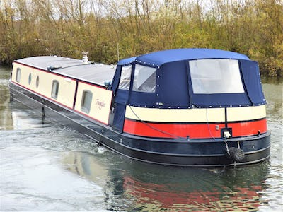 Wide Beam NarrowboatAqualine Canterbury 65 x 12Tranquillis - offered for sale by Tingdene Boat Sales