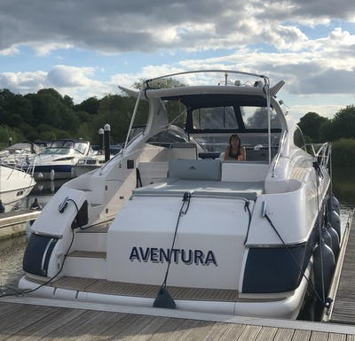 Astondoa 40 Open 'Aventura' - offered for sale by Tingdene Boat Sales