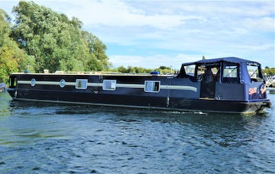 Wide Beam Narrowboat Lambon 62' Unique Design  Still Rockin - offered for sale by Tingdene Boat Sales