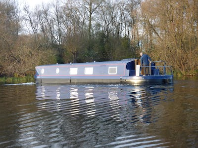Wide Beam Narrowboat60 x12 Orchard Marine Hanbury NANNA PAT  - offered for sale by Tingdene Boat Sales