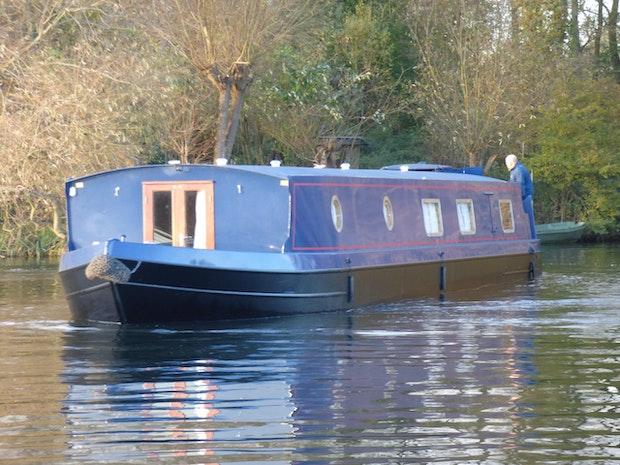 Wide Beam Narrowboat 60 x12 Orchard Marine Hanbury