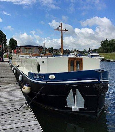 Lambon Dutch Barge Replica Alchemy - offered for sale by Tingdene Boat Sales