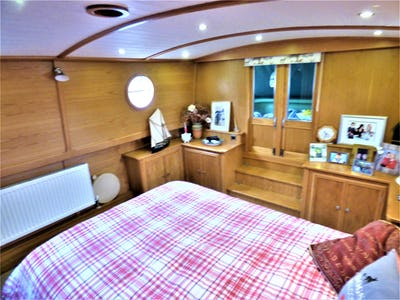 Wide Beam Narrowboat Reeves 65 x 11 Fit out by Kirton Narrowboats Constance Isabelle - offered for sale by Tingdene Boat Sales