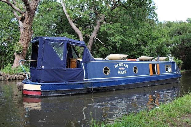Narrowboat 45' GJ Reeves Cruiser Stern