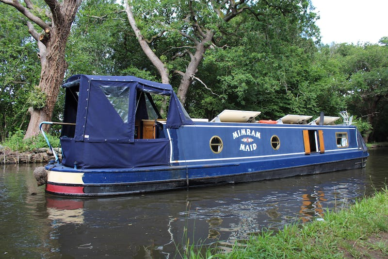 Narrowboat45' GJ Reeves Cruiser SternMimram Maid - offered for sale by Tingdene Boat Sales