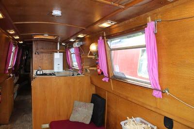Peter Nicholls Steelboats47' 6'' NarrowboatNans Gamp - offered for sale by Tingdene Boat Sales