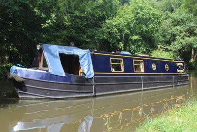 Narrowboat 38' Semi Trad Dave Clarke