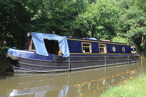 Narrowboat 38' Semi Trad Dave Clarke