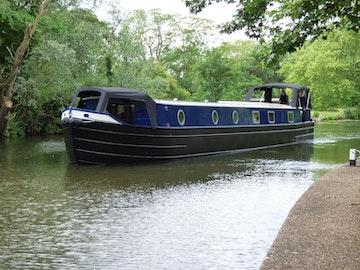 Wide Beam Narrowboat Tingdene Colecraft 66'x10'04