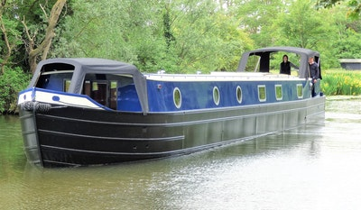 Wide Beam Narrowboat Colecraft 66' x10'04