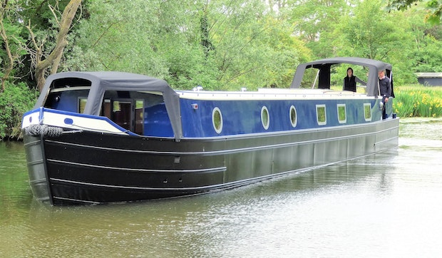 Wide Beam Narrowboat Tingdene Colecraft 66'x10'04