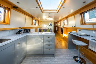 Colecraft66' x 10' Widebeam Two CabinsNew boat - offered for sale by Tingdene Boat Sales