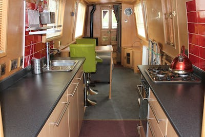 Lambon Semi Trad 57' Narrowboat Chrysalis - offered for sale by Tingdene Boat Sales
