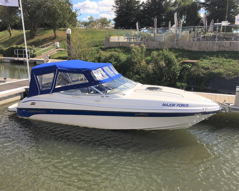 Ebbtide 2300 Sport Cuddy Major Force - offered for sale by Tingdene Boat Sales
