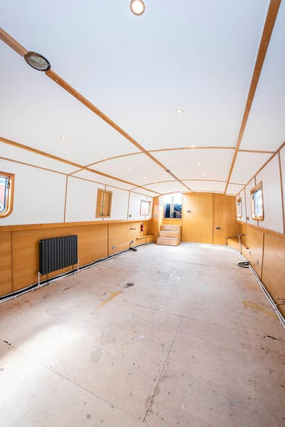Wide Beam NarrowboatColingwood 60 x 12 06 SailawayOn Reflection - offered for sale by Tingdene Boat Sales