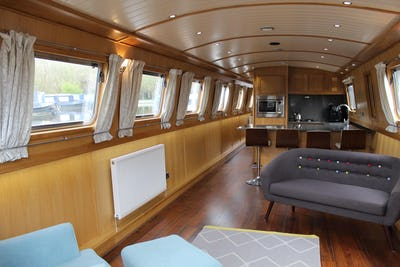 Collingwood 60' x 10' Widebeam Tenacious - offered for sale by Tingdene Boat Sales