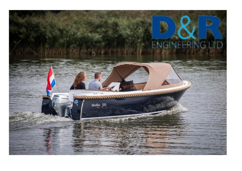Maxima550 - offered for sale by Tingdene Boat Sales